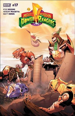 Mighty Morphin Power Rangers 17-A