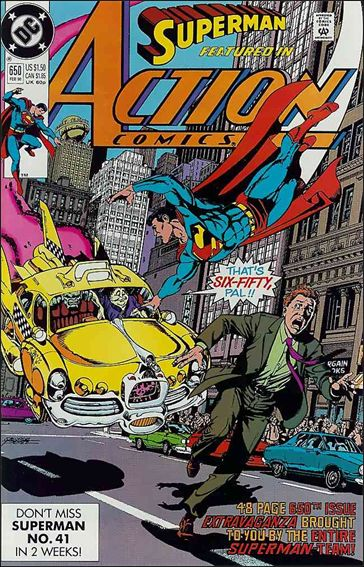 Action Comics (1938) 650-A by DC