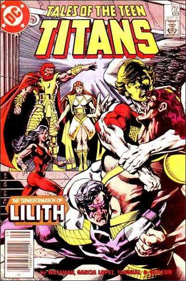 Tales of the Teen Titans 69-A by DC