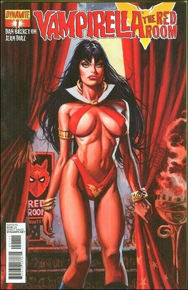 Vampirella: The Red Room 1-A by Dynamite Entertainment