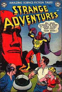 Strange Adventures (1950) 16-A by DC