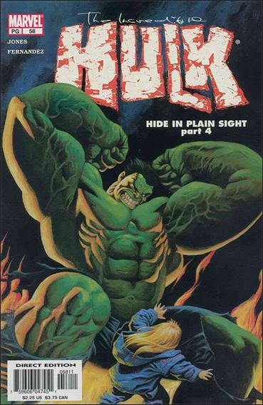 Incredible Hulk (2000)  58-A by Marvel