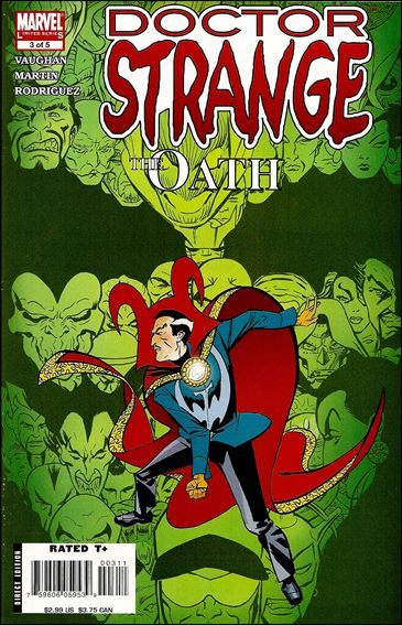 Doctor Strange: The Oath 3-A by Marvel