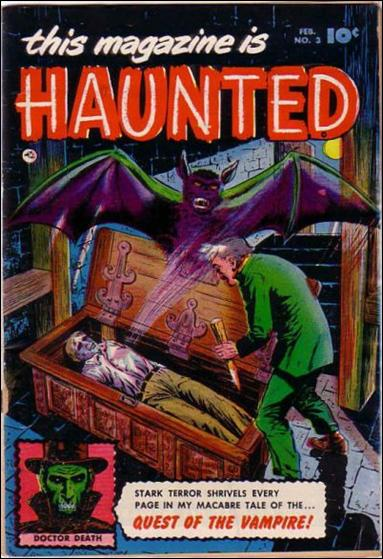 This Magazine is Haunted (1951) 3-A by Fawcett
