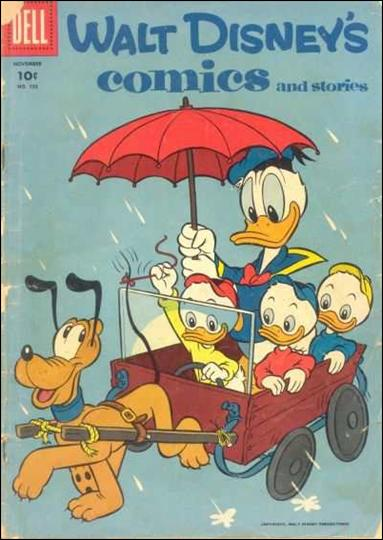 Walt Disney's Comics and Stories (1940) 182-A by Dell