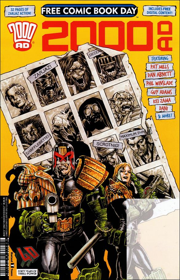 2000 AD Free Comic-Book Day Sampler 2017-A by Rebellion