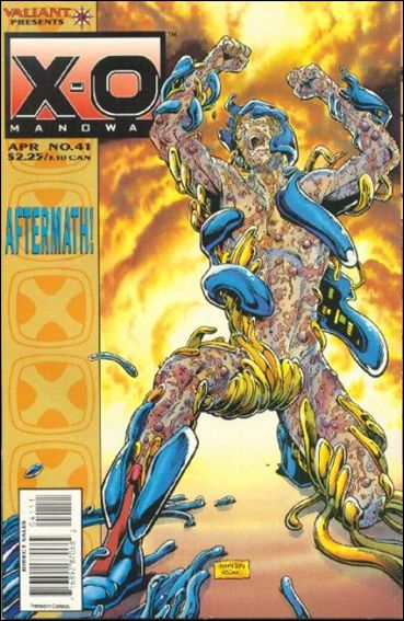 X-O Manowar (1992) 41-A by Valiant