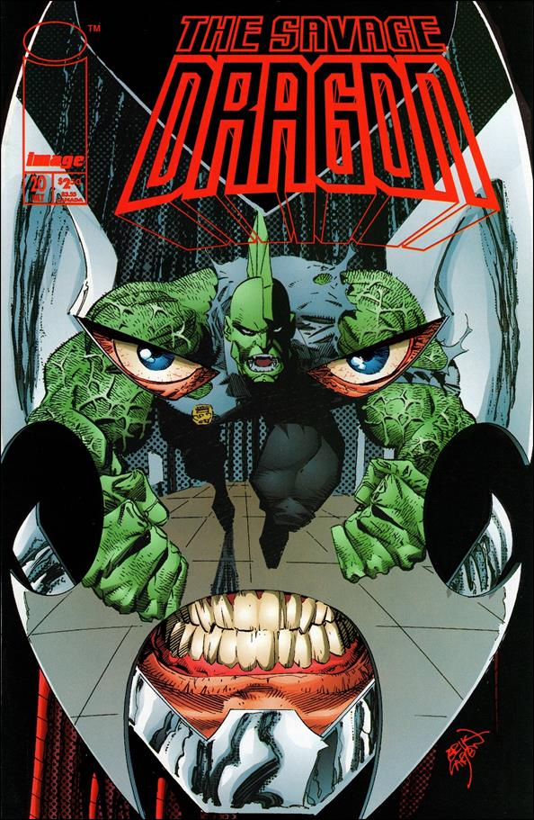 Savage Dragon (1993) 20-A by Image