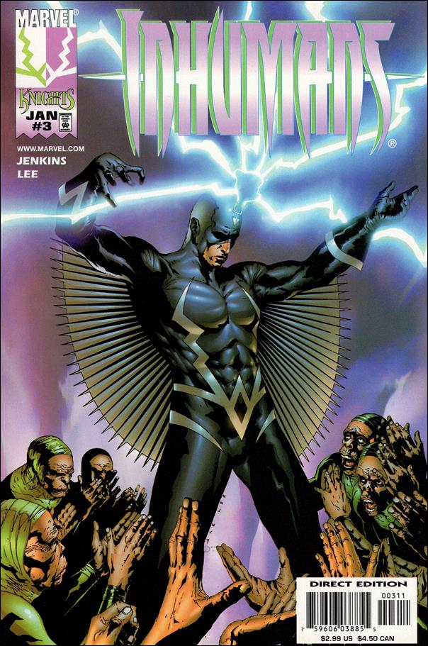 Inhumans (1998) 3-A by Marvel