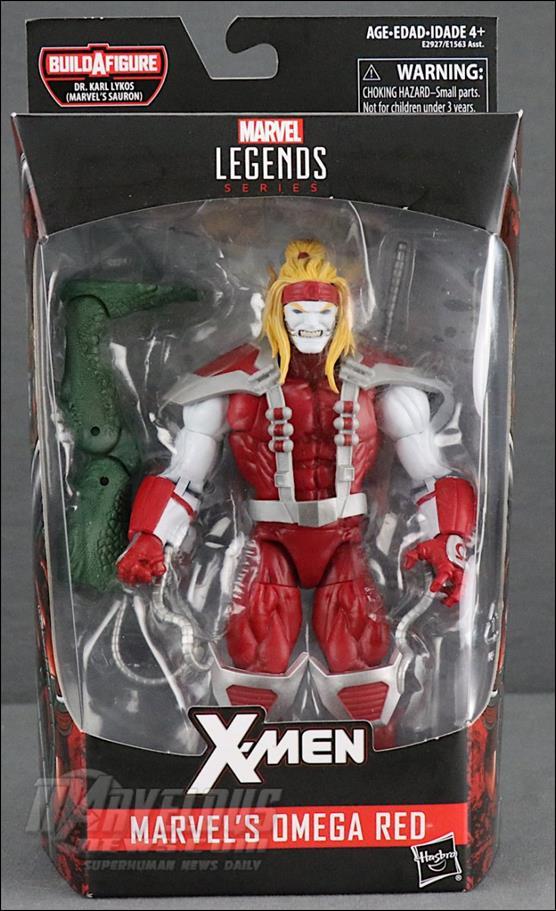Marvel Legends Series: X-Men (Dr. Karl Lykos (Marvel's Sauron) Series) Omega Red by Hasbro