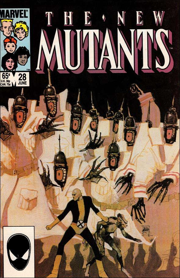 New Mutants (1983) 28-A by Marvel