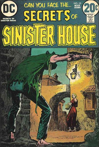 Secrets of Sinister House 10-A by DC