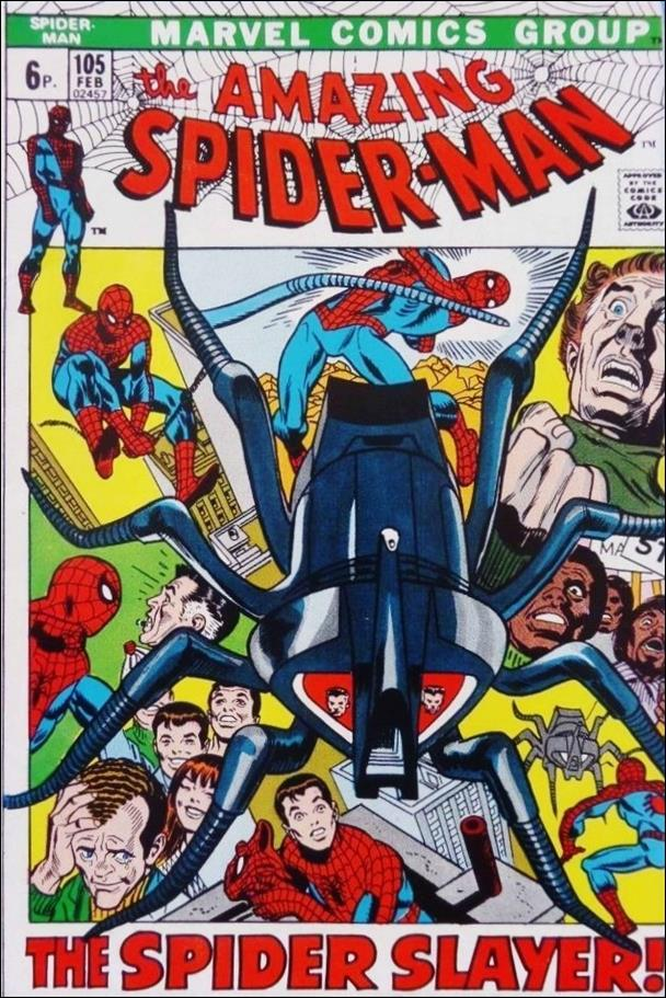 Amazing Spider-Man (1963) 105-B by Marvel