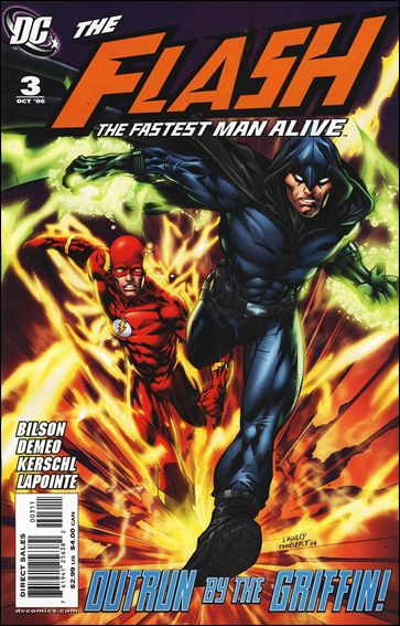 Flash: The Fastest Man Alive 3-A by DC