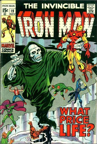 Iron Man (1968) 19-A by Marvel