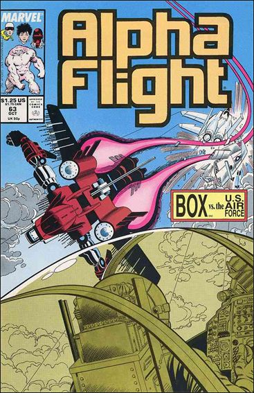 Alpha Flight (1983) 63-A by Marvel