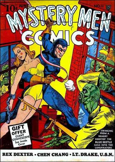 Mystery Men Comics 11-A by Fox