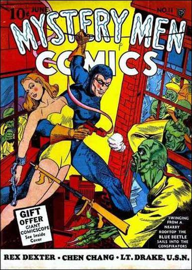 Mystery Men Comics 11-A by Fox