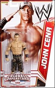 WWE Superstars (2012) John Cean (USA) by Mattel