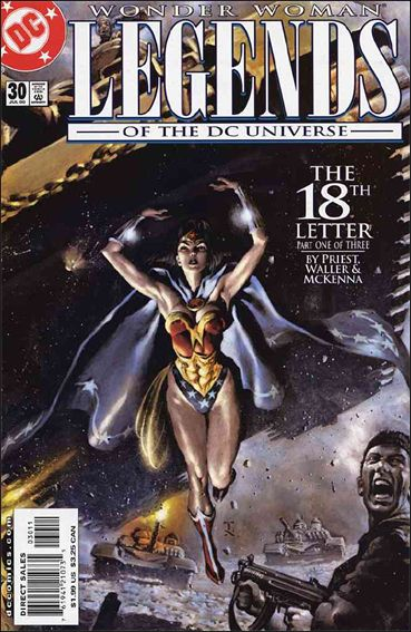 Legends of the DC Universe 30-A by DC