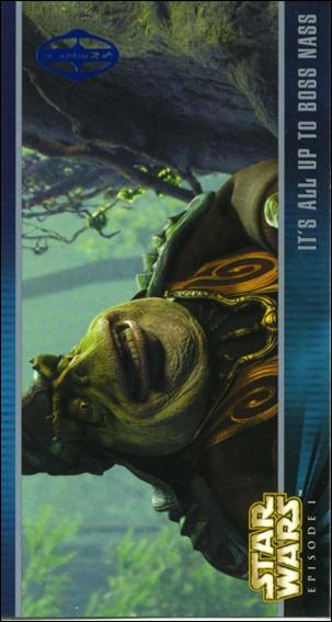 Star Wars: Episode I Widevision: Series 1 (Expansion Subset) X-28-A by Topps