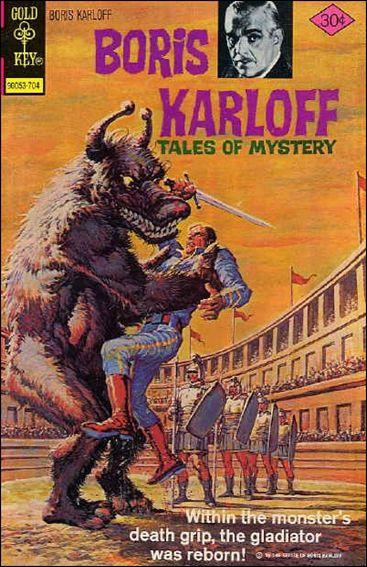 Boris Karloff Tales of Mystery 74-A by Gold Key