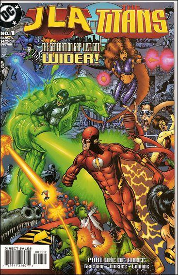 JLA/Titans 1-A by DC