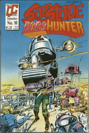 Sam Slade Robo Hunter 10-A by Quality Comics