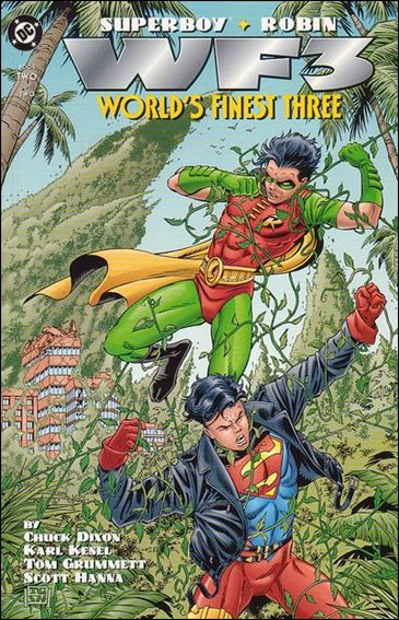 Superboy/Robin: World's Finest Three 2-A by DC