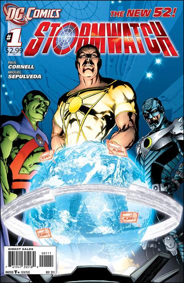 StormWatch (2011) 1-A by DC