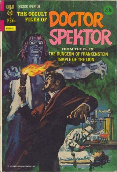 Occult Files of Dr. Spektor 6-A by Gold Key