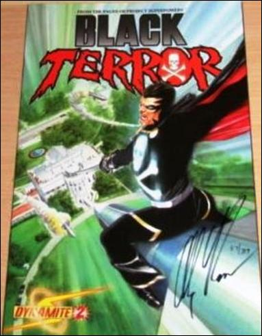 Black Terror (2008) 2-F by Dynamite Entertainment