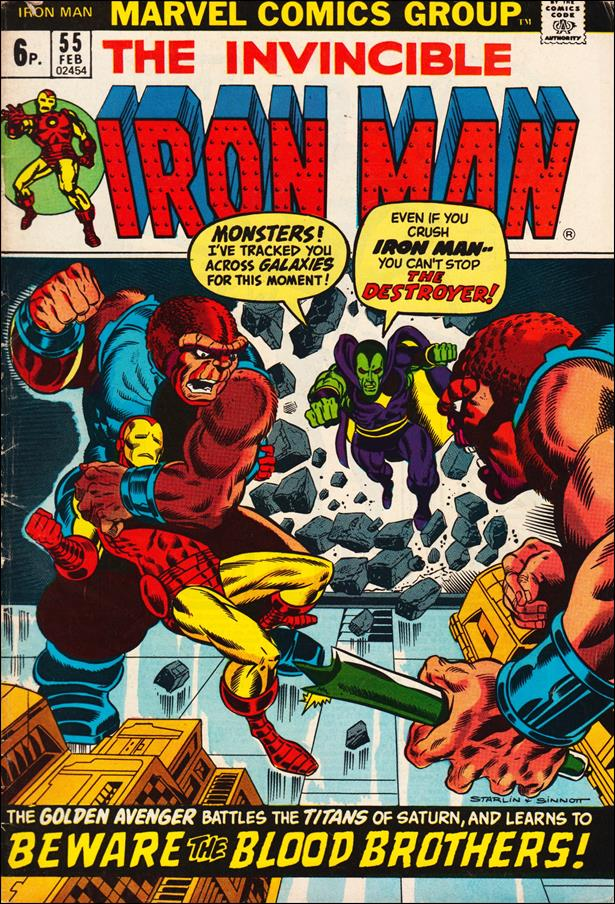 Iron Man (1968) 55-B by Marvel