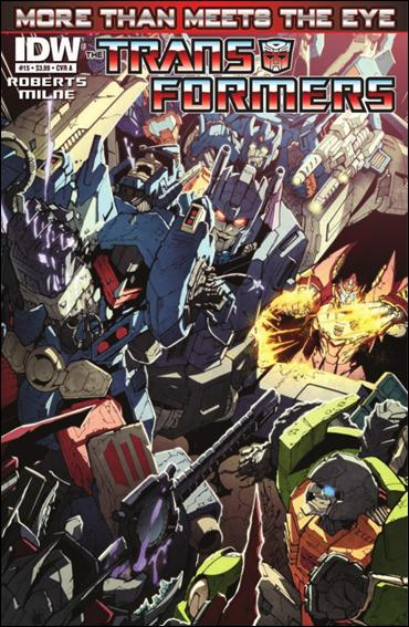 Transformers: More Than Meets the Eye (2012) 15-A by IDW