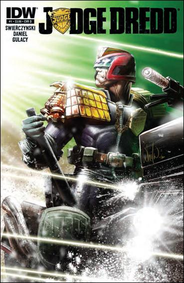 Judge Dredd (2012) 1-D by IDW