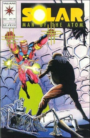 Solar, Man of the Atom (1991) 28-A by Valiant