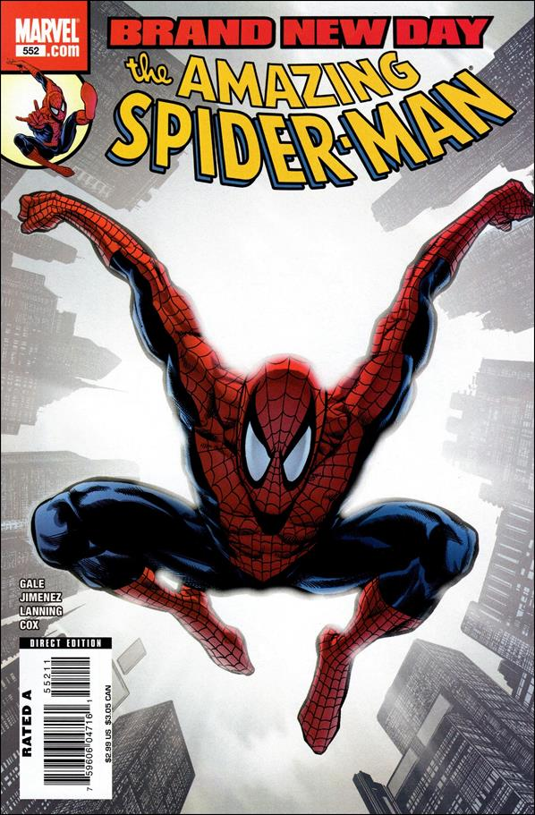 Amazing Spider-Man (1963) 552-A by Marvel