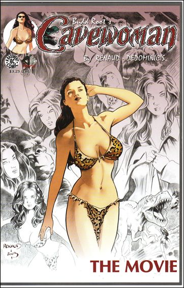 Cavewoman: The Movie 1-A by Basement Studios