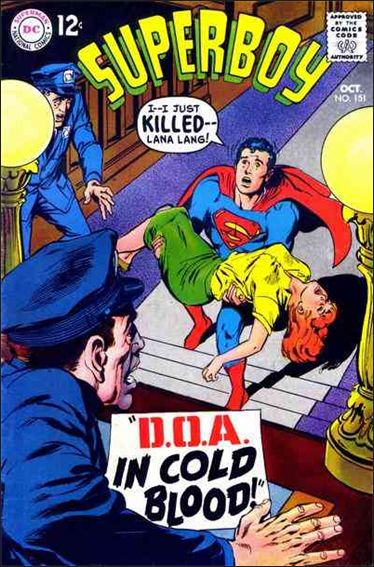 Superboy (1949) 151-A by DC