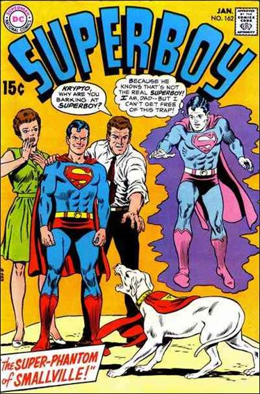 Superboy (1949) 162-A by DC