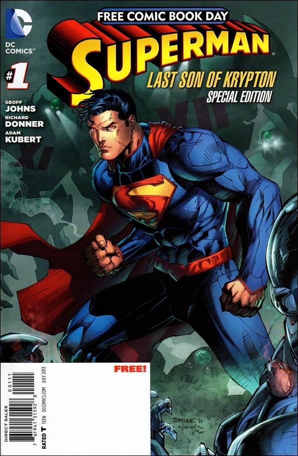 Superman: The Last Son of Krypton FCBD Special Edition 1-A by DC