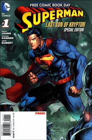 Superman: The Last Son of Krypton FCBD Special Edition 1-A