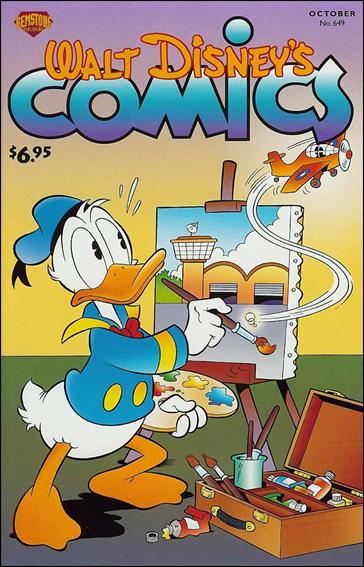 Walt Disney's Comics and Stories (1940) 649-A by Dell