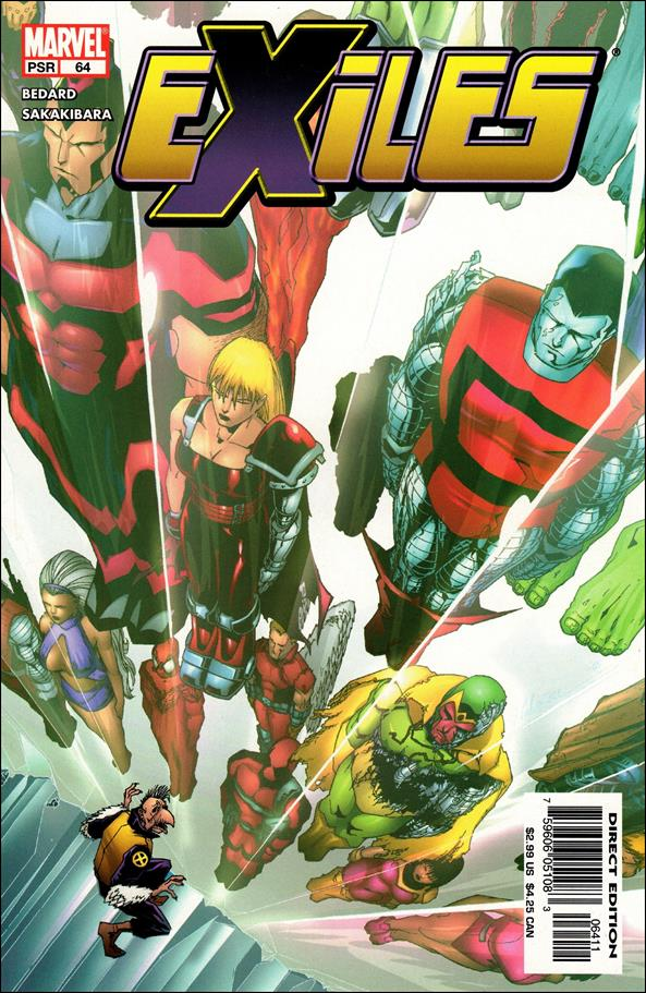 Exiles (2001) 64-A by Marvel