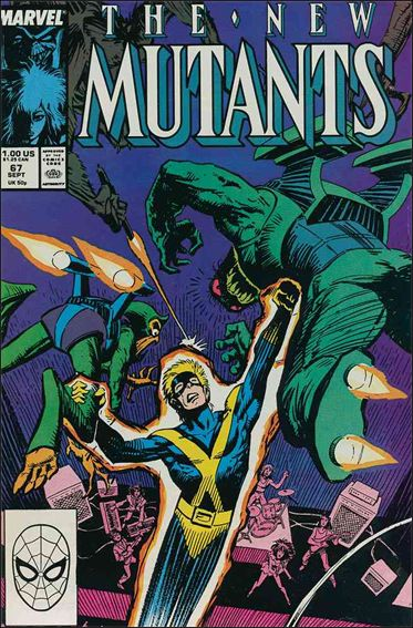 New Mutants (1983) 67-A by Marvel