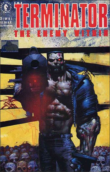 Terminator: The Enemy Within 3-A by Dark Horse