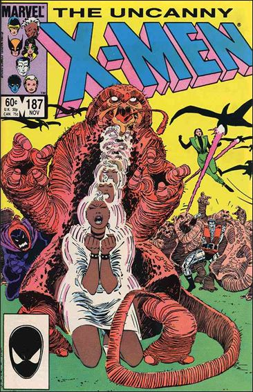 Uncanny X-Men (1981) 187-A by Marvel