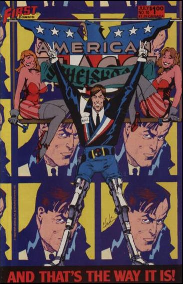 American Flagg! (1983) 10-A by First