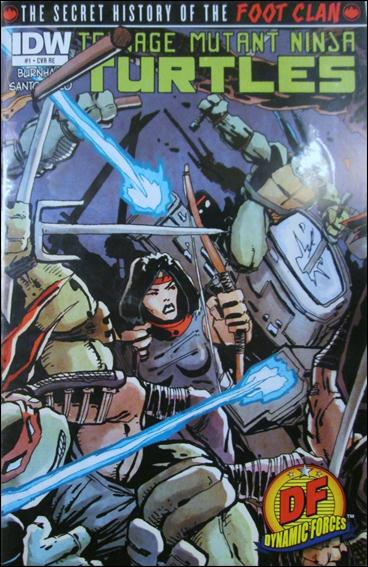 Teenage Mutant Ninja Turtles: The Secret History of the Foot Clan 1-D by IDW
