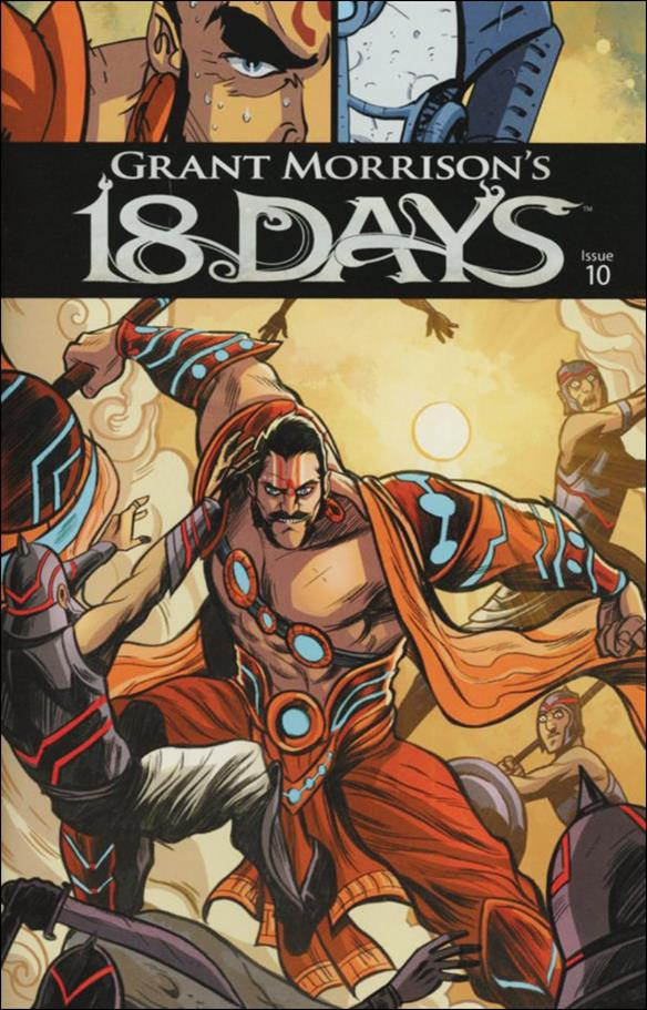 18 Days 10-A by Graphic India